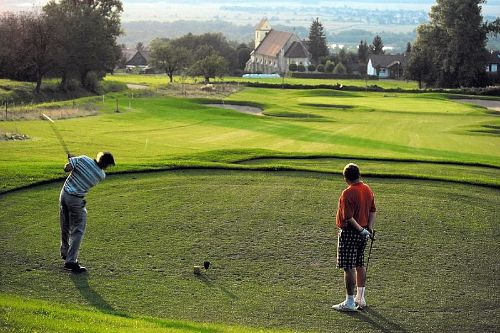 Golfplatz direkt beim G�stehaus