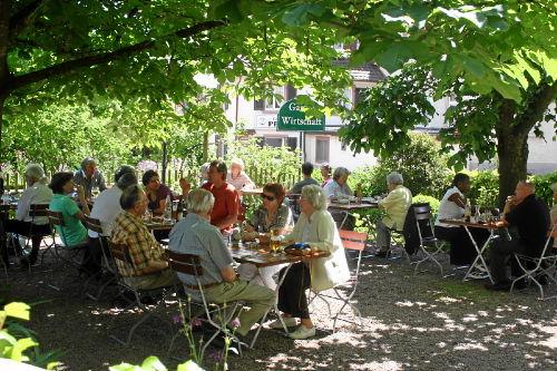 Biergarten im Markgr�flerland
