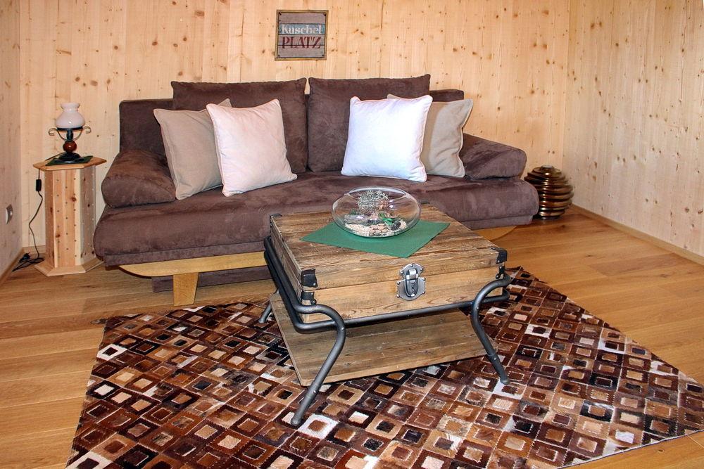 Couch im Glocknerblick-Zimmer