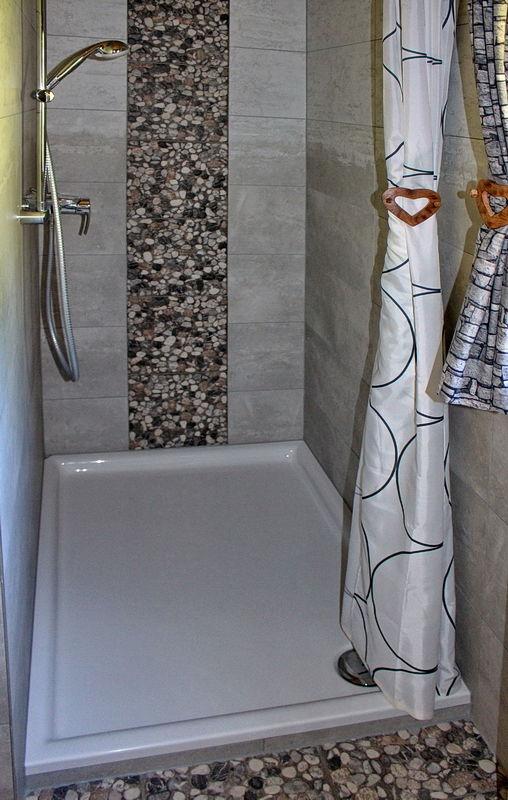 Maxi-Dusche für wohltuende Momente