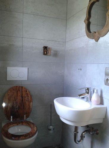 WC mit Blick auf den Gro�glockner