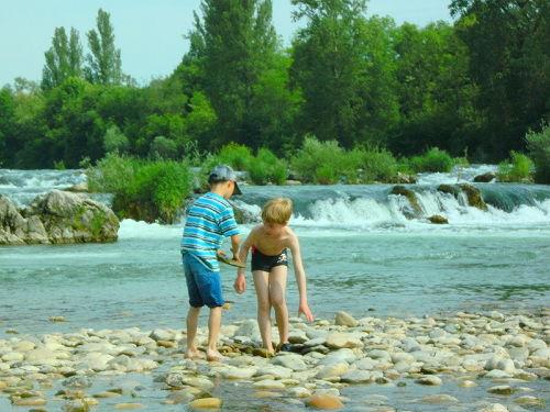 Isteiner Schwellen im Rhein