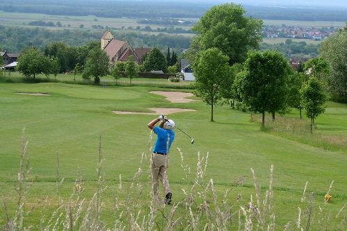 Golfplatz in Bamlach