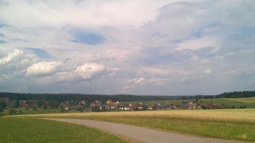Blick auf Igelsberg (Rappenh�tte)