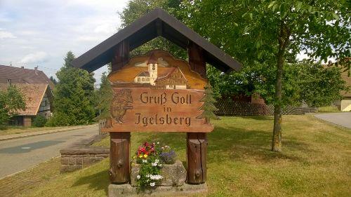 Ortseingang Igelsberg