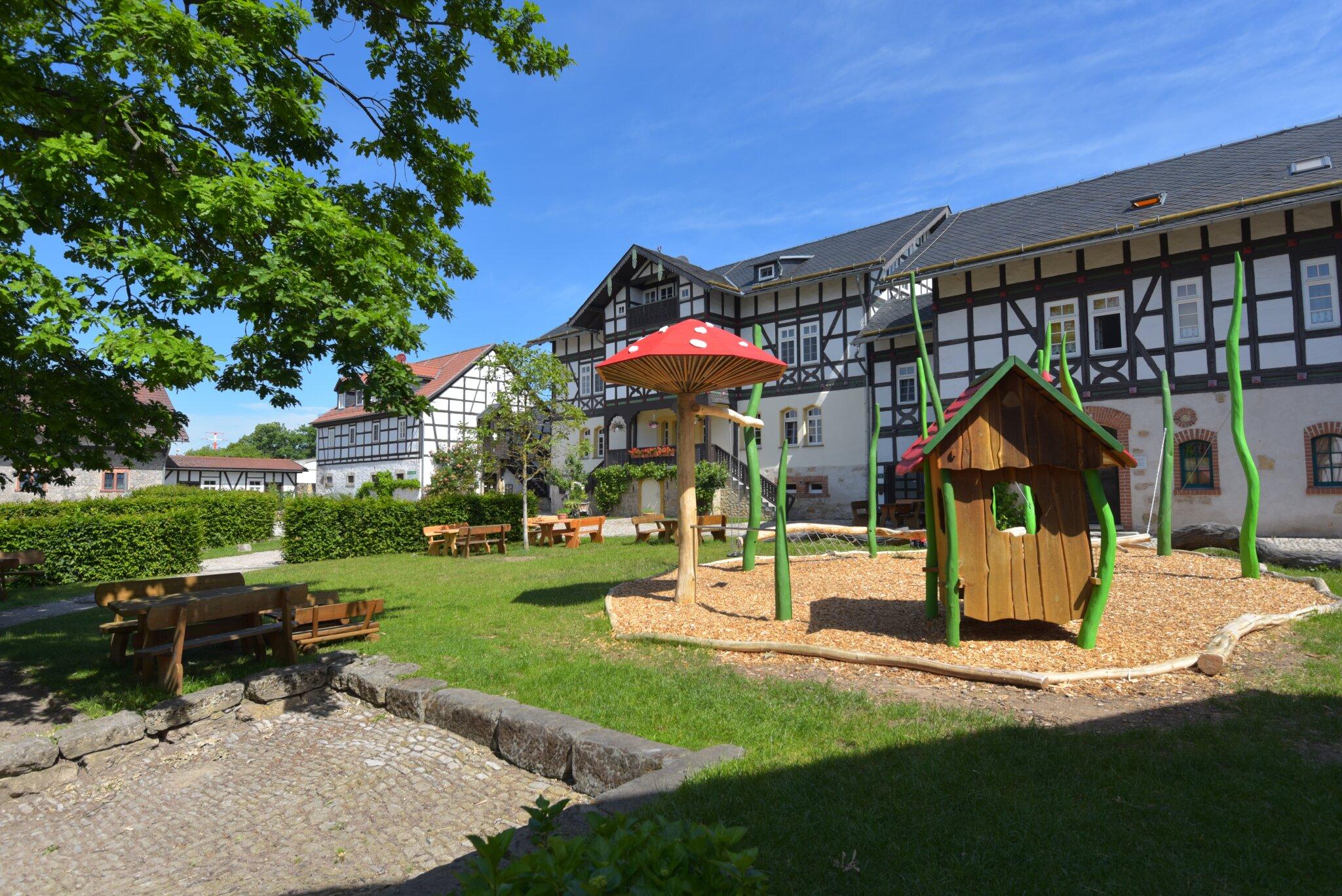 Ferienhof Dom�ne Groschwitz