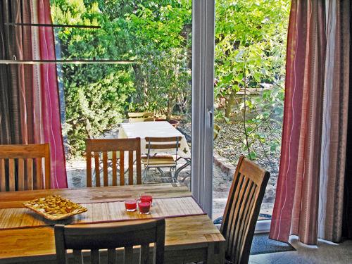 Essecke und Ausblick zur Terrasse