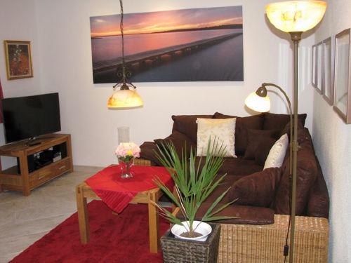 Warme Farbtöne im Wohnzimmer