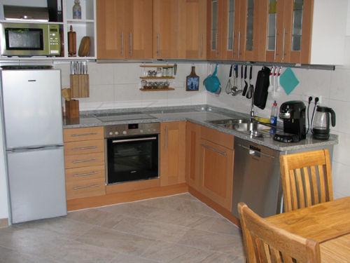 Küche mit moderner Komplett-Ausstattung