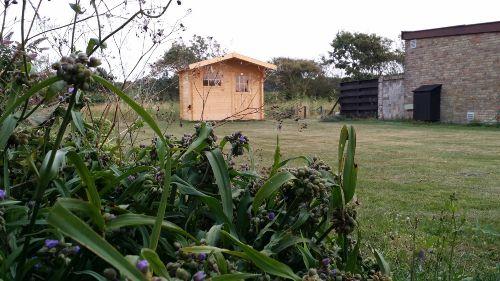 Bungalow 107 mit Holzhütte