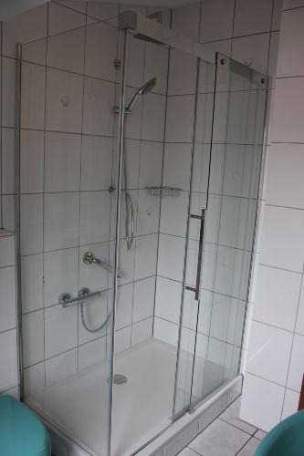 Dusche 0,80 x 1,20 m