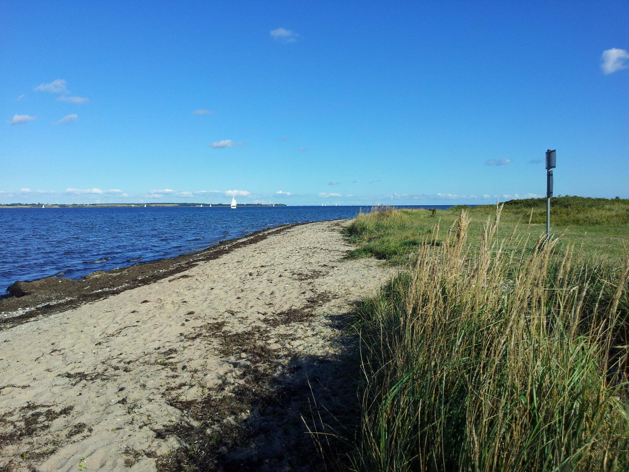 Am Strand von Langballigau