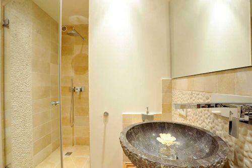 Duschbereich im UG
