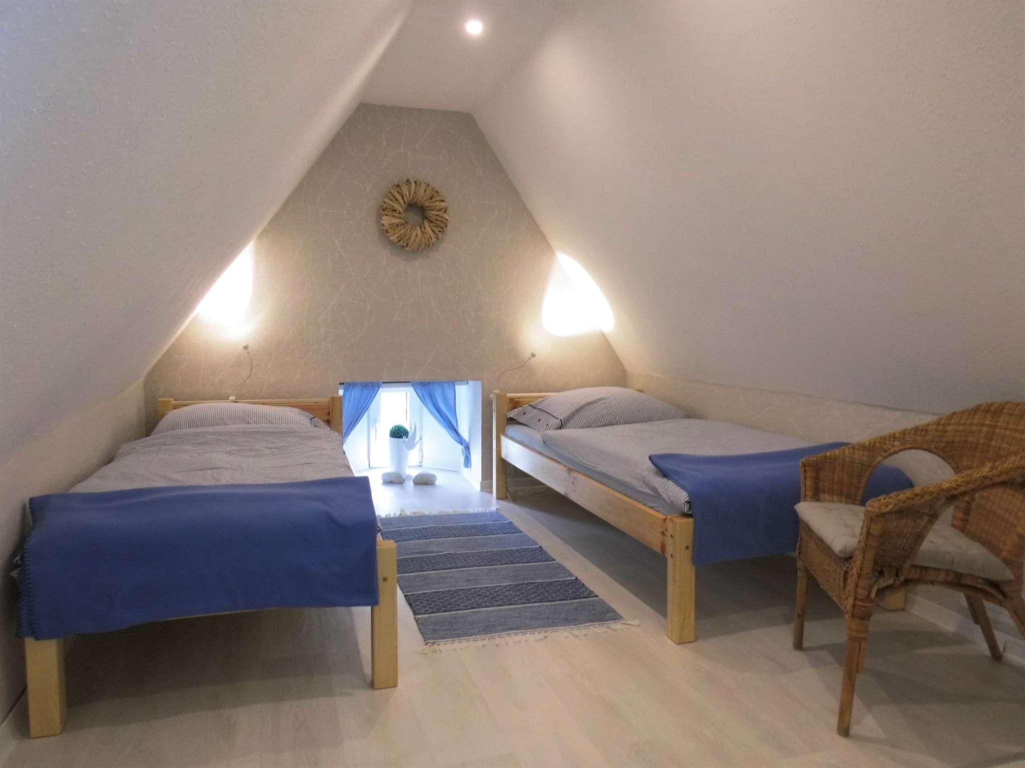 Wohn- Schlafbereich Dachgeschoss
