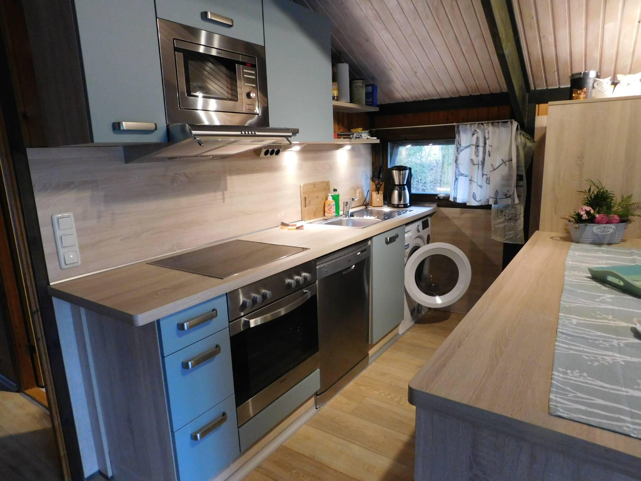 Ansicht der offenen Küche