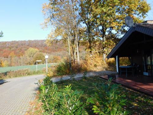 Uhlenhuk mit Parkplatz im Herbst