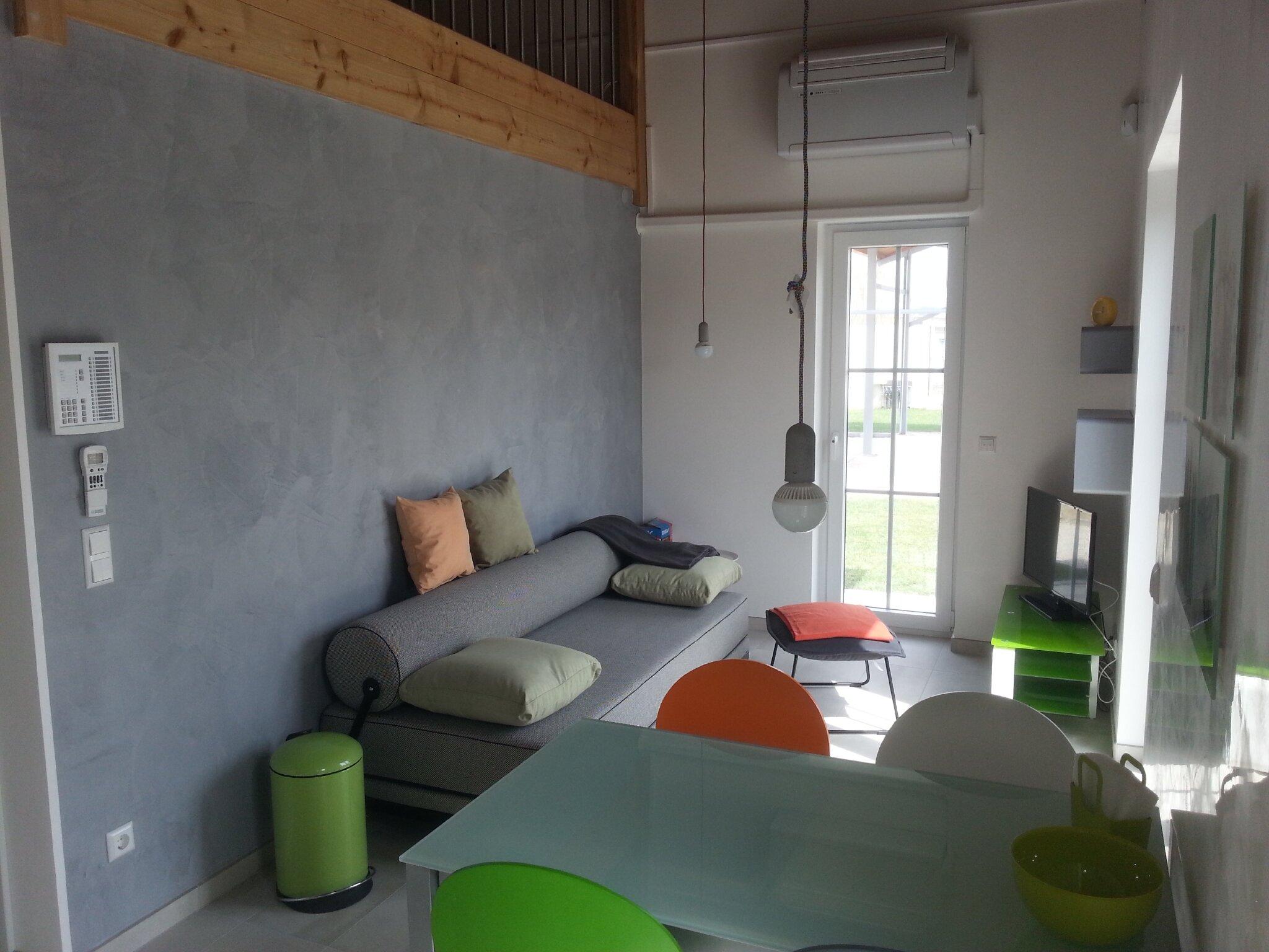 Schlafzimmer (grün)