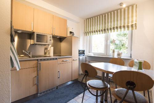 K�che und Essbereich Wohnung 3