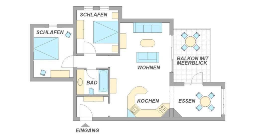 Appartment Königsstuhl, WE Königsstuhl