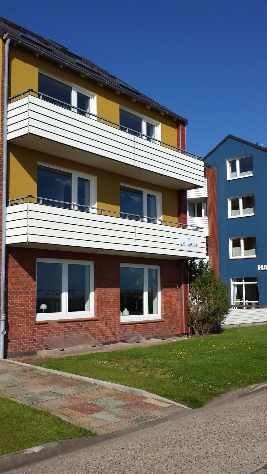 Dünenblick Apartments, Eigner-Suite, 1. OG, Balkon