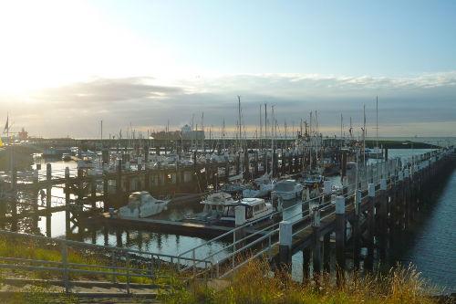 Yachthafen in Terneuzen am Abend (2 km)