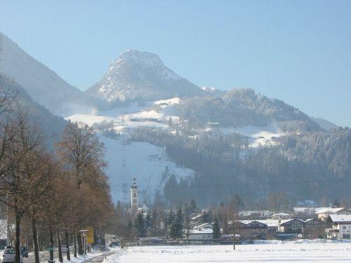 Oberaudorf m. Hocheck(Lift) u.Br�nnstein