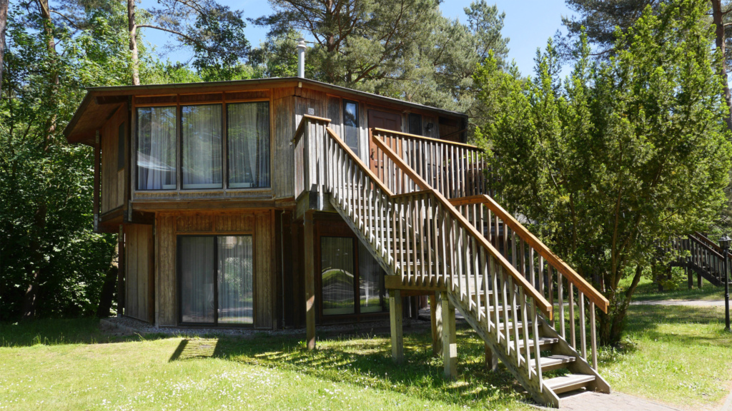 Kanadische Strandbungalows Waldoase, 2w6oB
