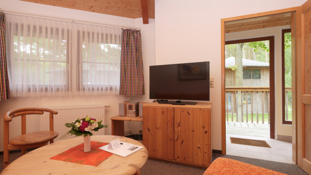 Kanadische Strandbungalows Waldoase, 1w7oB