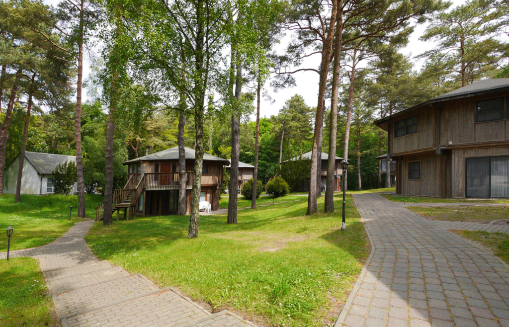 Kanadische Strandbungalows Waldoase, 1w9oB