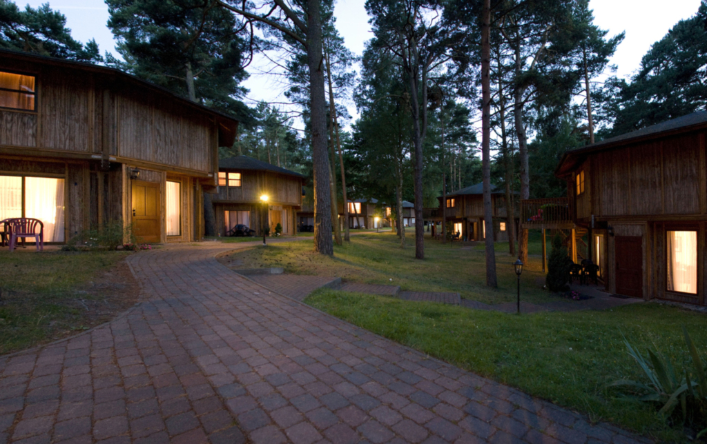 Kanadische Strandbungalows Waldoase, 2w1oB