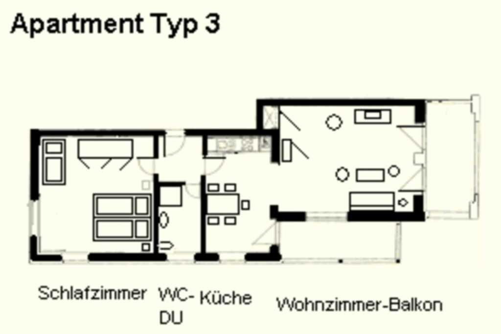 Villa Strandidyll, 2 - Raum - Apartment (A3.1), 2