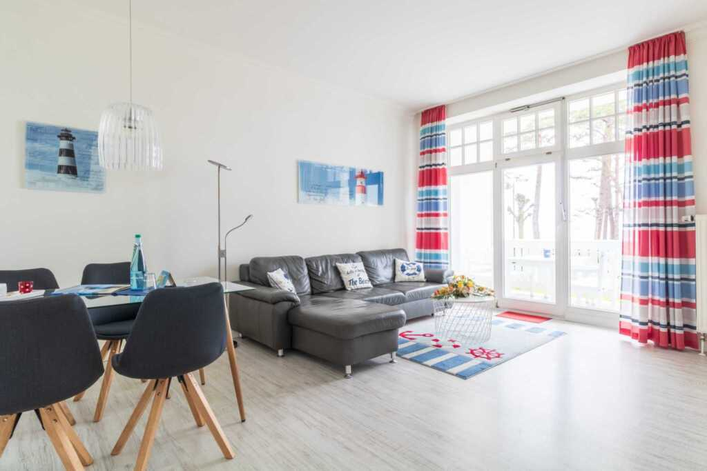Villa Strandidyll, 2 - Raum - Apartment (A.2), Bal