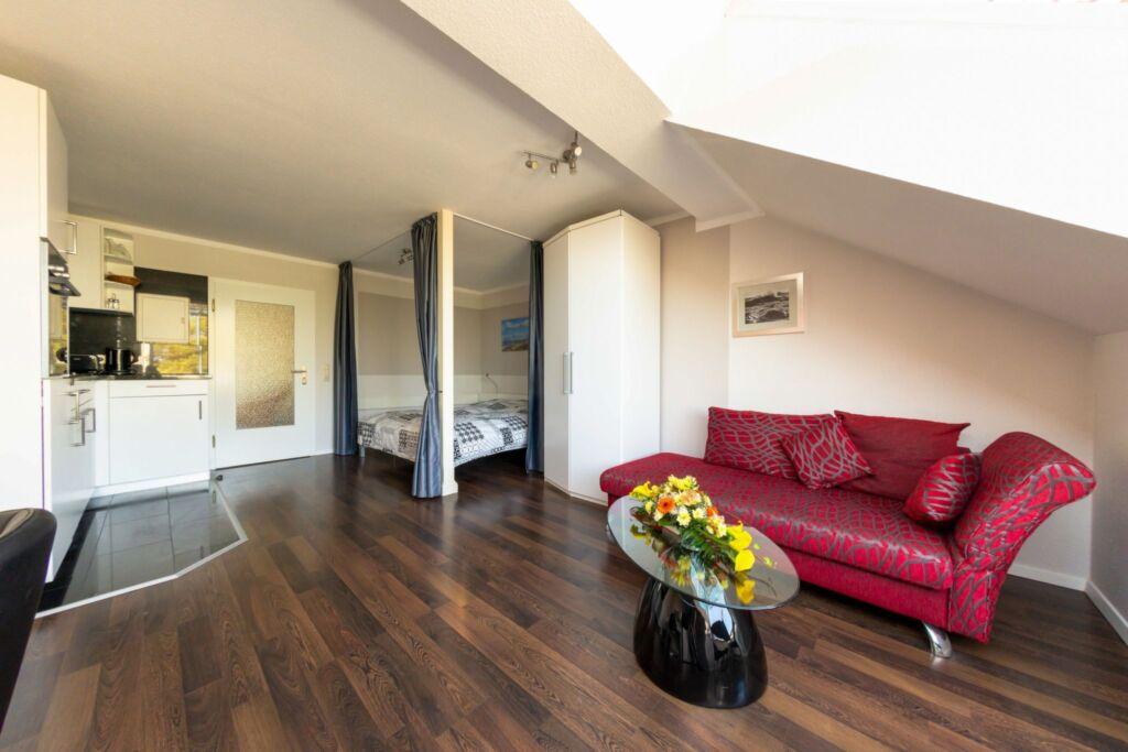 Villa Strandidyll, 1 - Raum - Apartment mit Meerbl