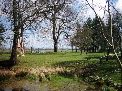 Hausteich & Garten & Storch