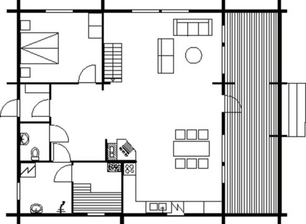 Ferienhaus Q871