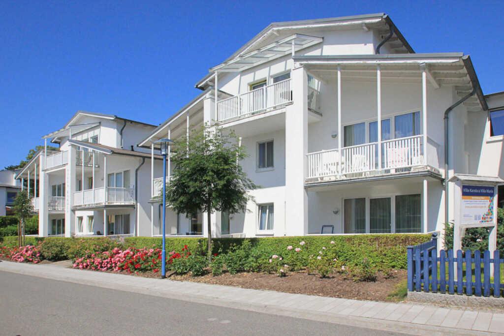 Villa Karola, WE 09: 42 m², 2-Raum, Balkon (Typ A)