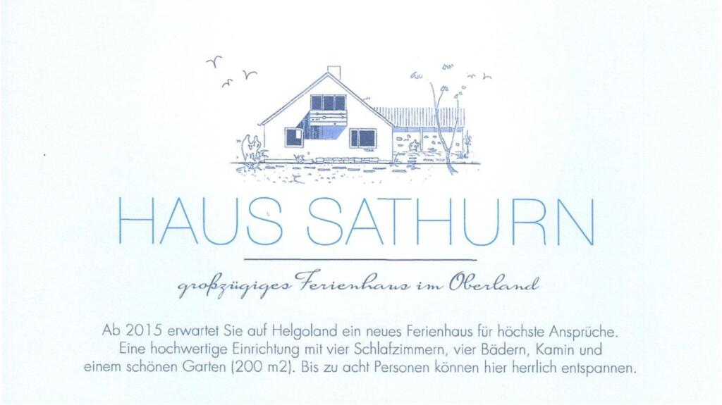 Haus Sathurn, Ferienhaus