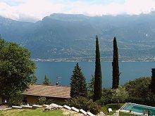 Villa Carlotta Blick auf den See