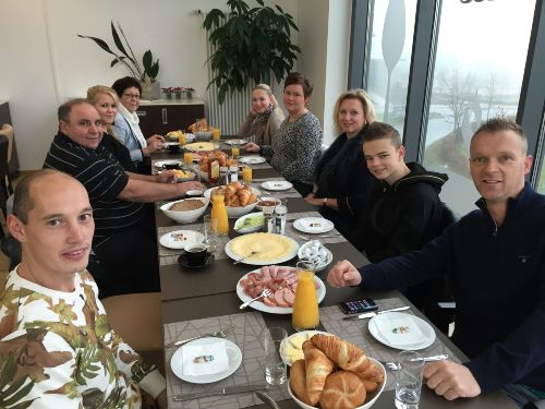 Frühstück La F'Ourchette