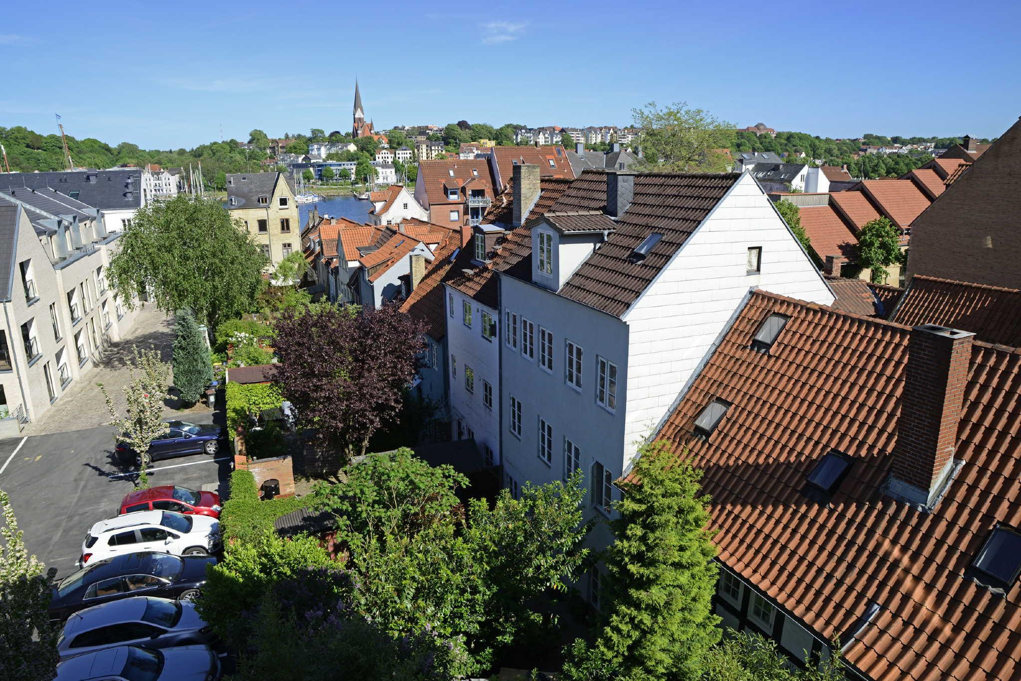Aussicht auf Altstadt und Hafen