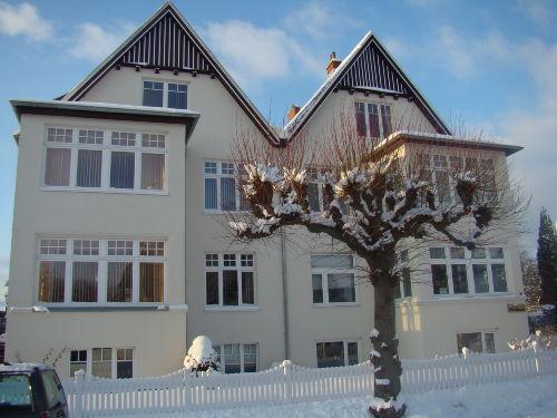 Haus Übersee im Winterkleid 2009-10