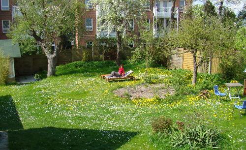 Haus Übersee Garten