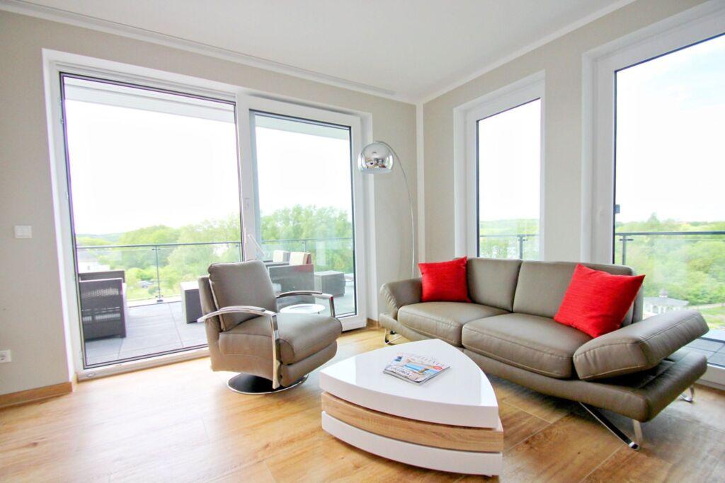 Residenz Seeterrassen, A 09: 75m²,3-Raum,4Pers,Bal