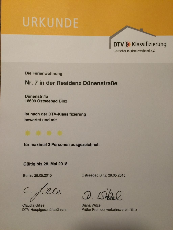 Residenz D�nenstra�e (App. Doege), Appartement Doe