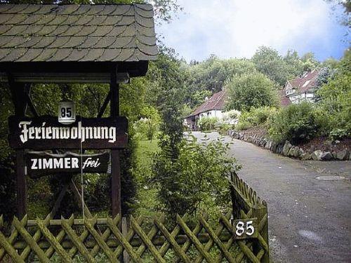 Ferienwohnung Kassel Einfahrt