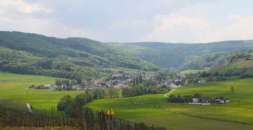 Burgen im Frohnbachtal