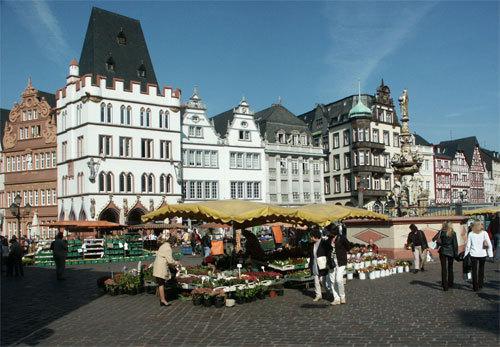 Der Markt in Trier