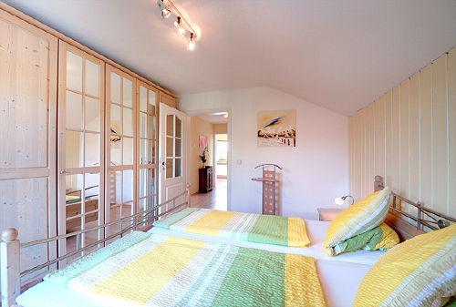 Balkonschlafzimmer 2 Betten