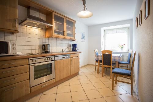 Neue Küche, komplett eingerichtet