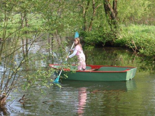 """Romantische Bootsfahrt auf der """"Nims"""""""